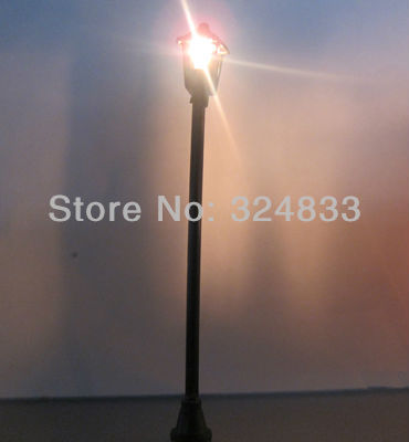Architectrual model scale 1/75~1/100 for general scale model lamp 100pcs(China (Mainland))