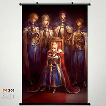 Home Decor Anime Fate stay night Wall Poster Scroll Japanese Cosplay N1