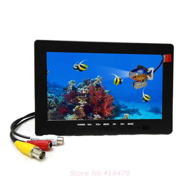 7 inch TFT CCTV LCD Monitor BNC AV Video input For Car Monitor or Security Camera Monitor(China (Mainland))