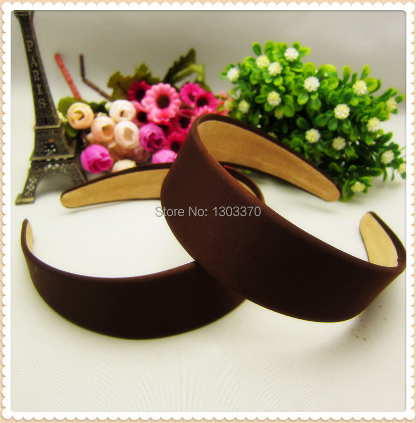 free shipping 1pcs, 38mm Cloth, With Brown Color,Hair styling Headwear, hair, style, personality TG005(China (Mainland))