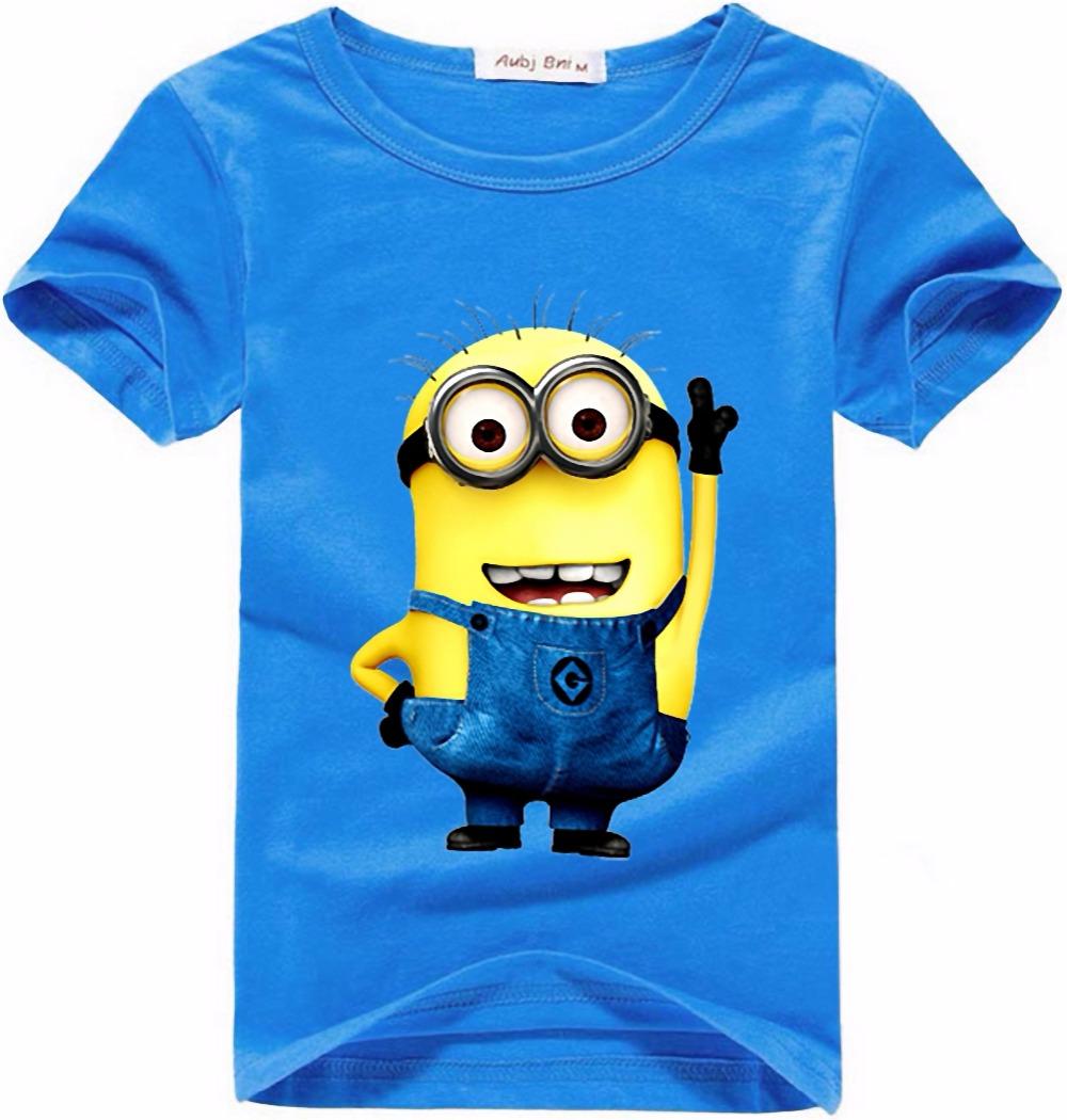 minion shirt top quality t shirts camisetas