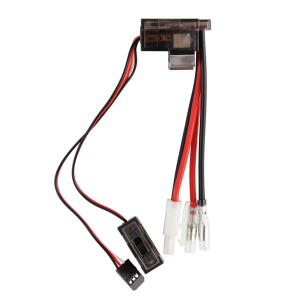 1pc NiMH 4.8 - 7.2V 320A Brushed Electric Speed Controller Brush ESC For RC Car boart 1/8 1/10 Truck Buggy Newest(China (Mainland))
