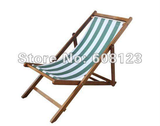 per esterni pieghevole sedie a sdraio in legno spiaggia sedia a sdraio ...