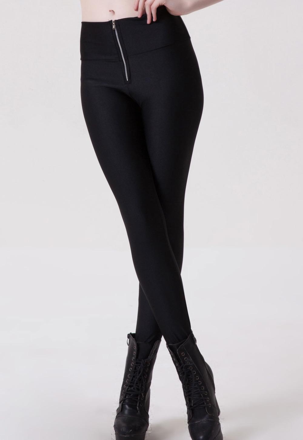 Original Home  Seductive Skinny Side Pocket Zipper Leather Pant For Women