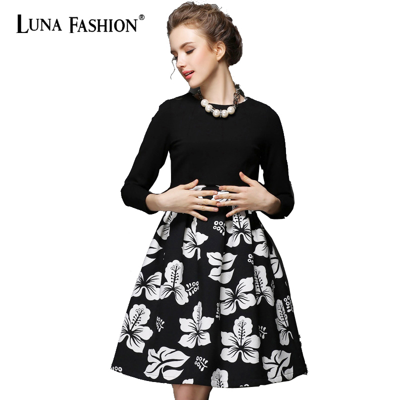 2 piece set women 5xl plus size vestido floral red black white dress elegant winter autumn 4xl 3xl 2xl
