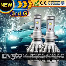 H7 High Quality 20W 2000LM High Lumens LED Headlight Replacement Bulb For Auto Car All In One Xenon White(China (Mainland))