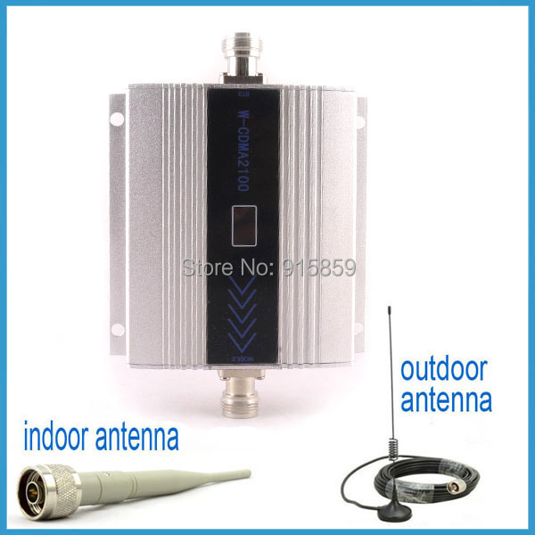 Direct Marketing W-CDMA 2100Mhz 3G repeater 3g booster mobile phone booster amplifier repeater With Display(China (Mainland))
