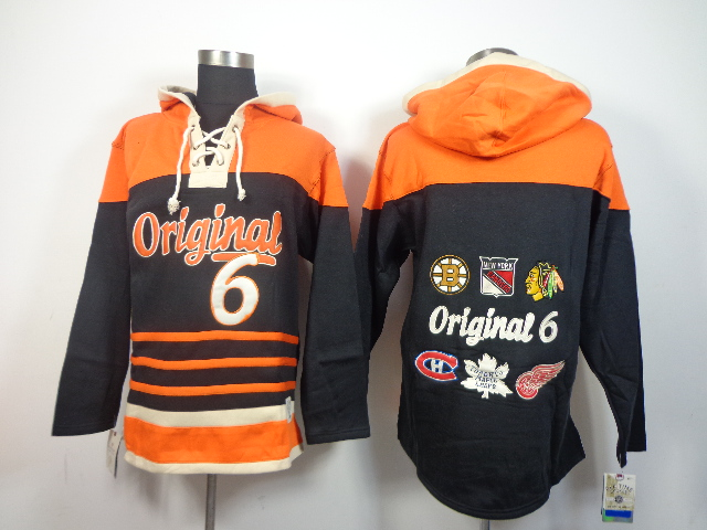 Newly Old Time Hockey Jerseys Originals Chicago Blackhawks Hoody #6 Hoodie Sports Authentic Pullover Sweatshirts Jacket