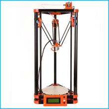 LCD display delta diy 3d printer kits with 40m filament masking tape  8GB SD card for Free