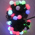 10M 100LEDS LED Ball Holiday Christmas fairy lights led Changing with Linkable Ball String Christmas Xmas