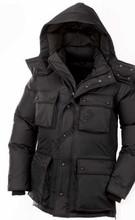 2016 Livraison gratuite Canada Hommes Hiver chaud et imperméable Respirant manteau en Duvet D'oie veste Loup de col de fourrure Hommes Vers Le Bas veste Parka(China (Mainland))