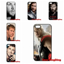 Moto X1 X2 G1 E1 Razr D1 D3 iPhone 4 4S 5 5C SE 6 6S Plus Apple iPod Touch Avengers Thor Chris Hemsworth Capa - Phone Cases Ding store