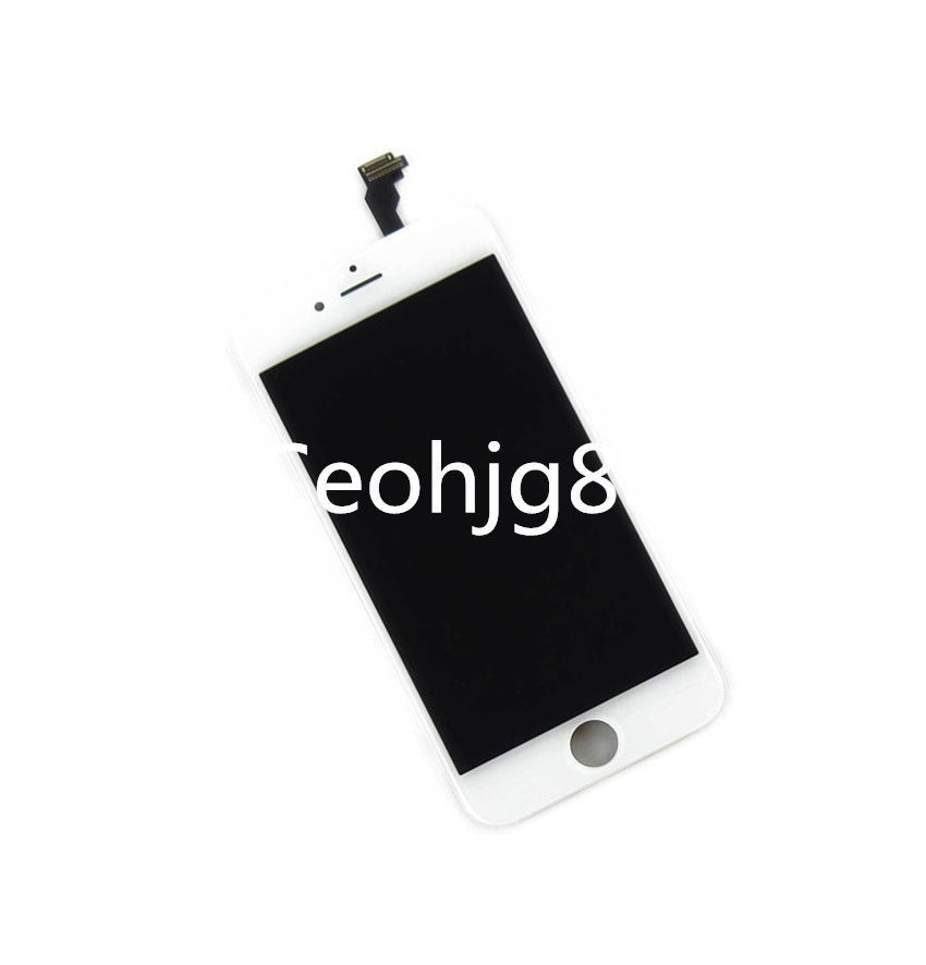 For iphone 6 White 4.7 inch LCD Display Touch Screen Digitizer Assembly Replacement free tools