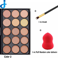 15 Concealer Makeup For Hide Contour Face Power Camouflage Make Up Set Correttore Hot Women Face