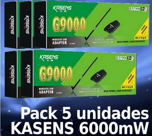 5pcs, Kasens ks/g9000 Ralink3070 18 6000mW usb wifi цена и фото