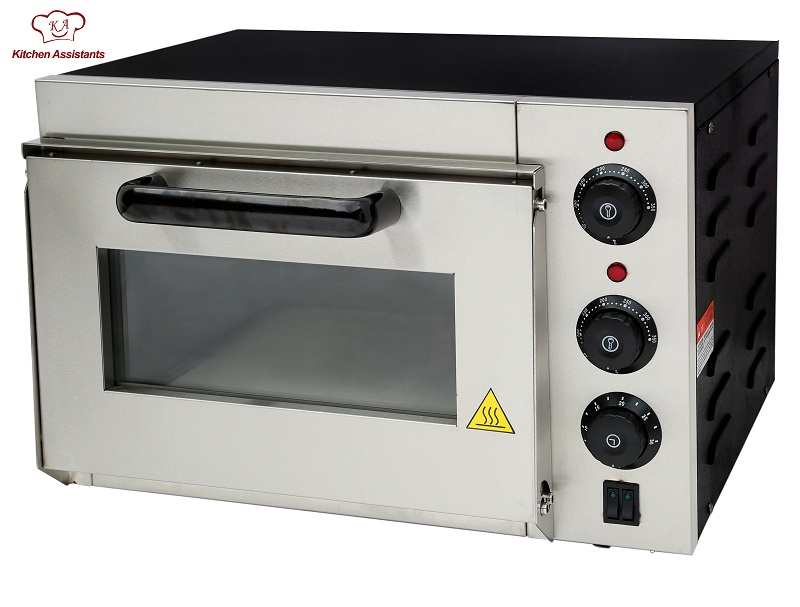 KAEP1AT Hot sale Electric Pizza Oven with timer for commercial use for making bread, cake, pizza(China (Mainland))
