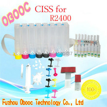 Top quality Continuous Ink Supply System CISS for Printer  R2400 desktop printer