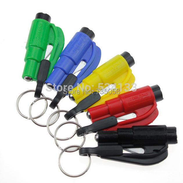 A13 Car Emergency Rescue Tool Window Glass Breaker Seat Belt Cutter Car Safety Car Knife Tool Glass Breaker Life Hammer E3415 P(China (Mainland))