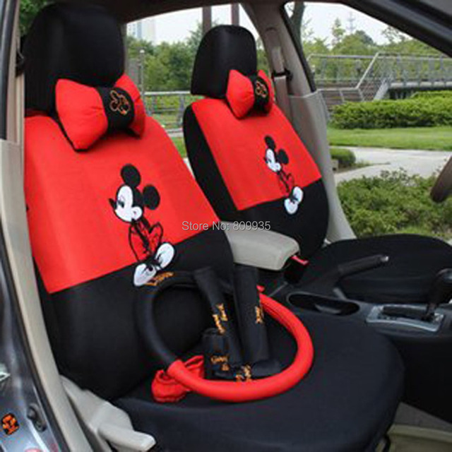Mickey Mouse AutoCar Front Amp Rear Seat Covers Car