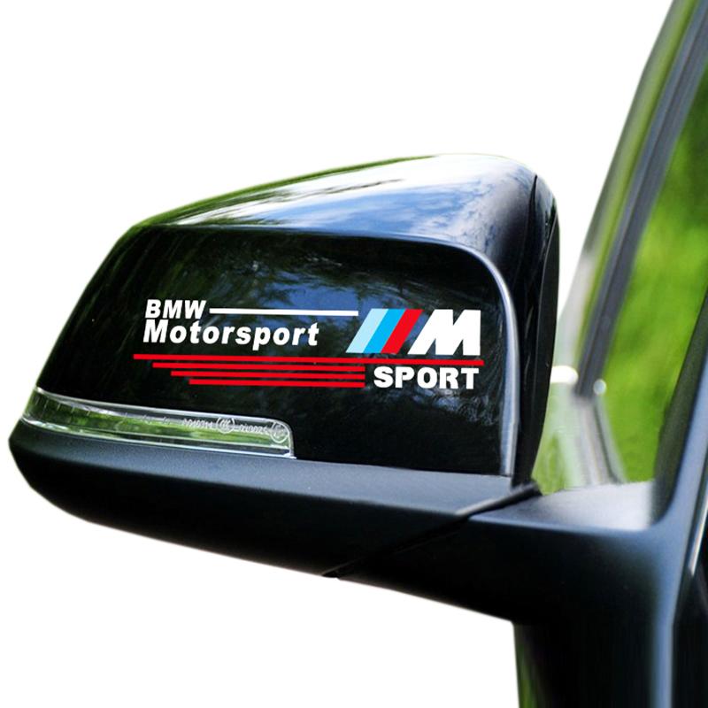 1 Set New 3D M Rearview Mirror Car Sticker Badge Case for BMW E34 E36 E60 Jacket E46 E39 X1 X3 X6 Car Styling Exterior Accessory<br><br>Aliexpress