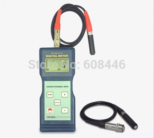 Paint Coating Thickness Tester Gauge F&NF Probes 0~1000 um / 0~40 mil CM-8822(China (Mainland))