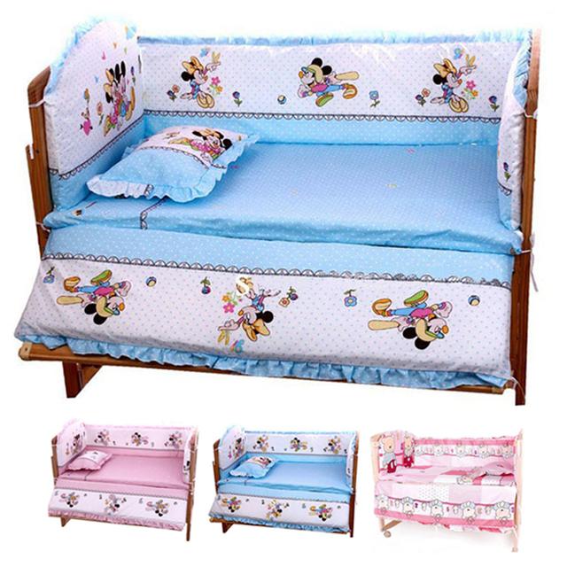 Hot 100 * 60 см детские постельного белья включает в себя подушки бамперы матрас, ...