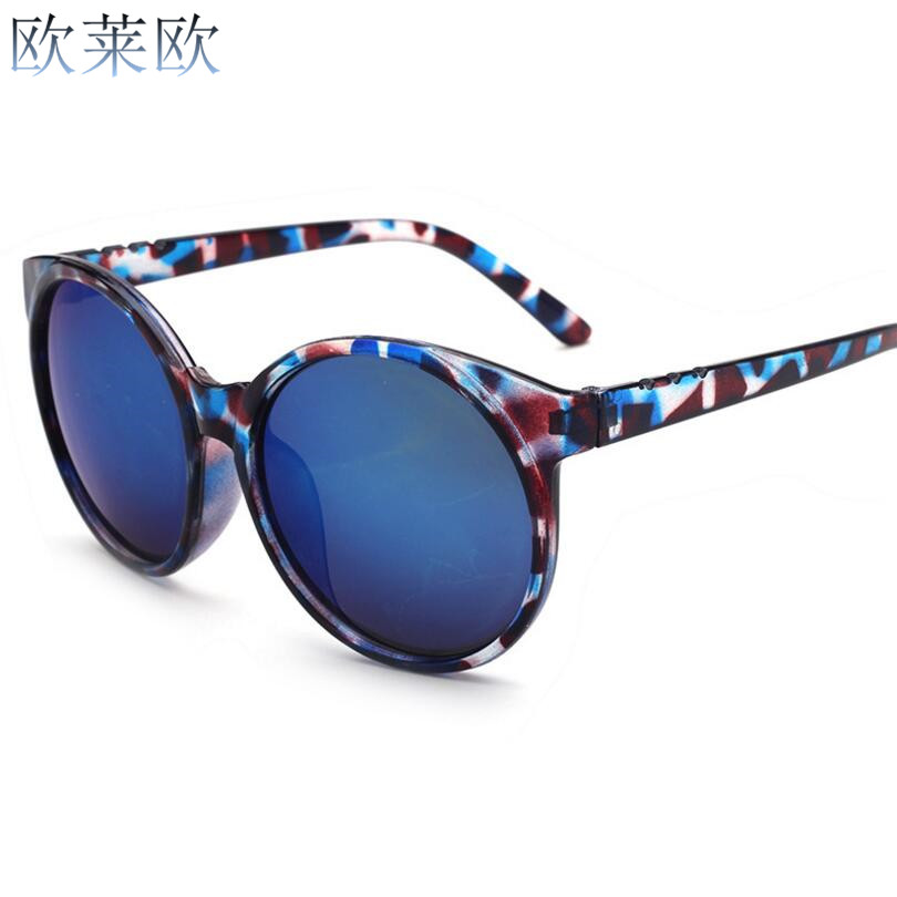 2017 Newly design star style miss sunglasses Retro classic Round sunglasses the lower price is worth buying do not hesitate(China (Mainland))