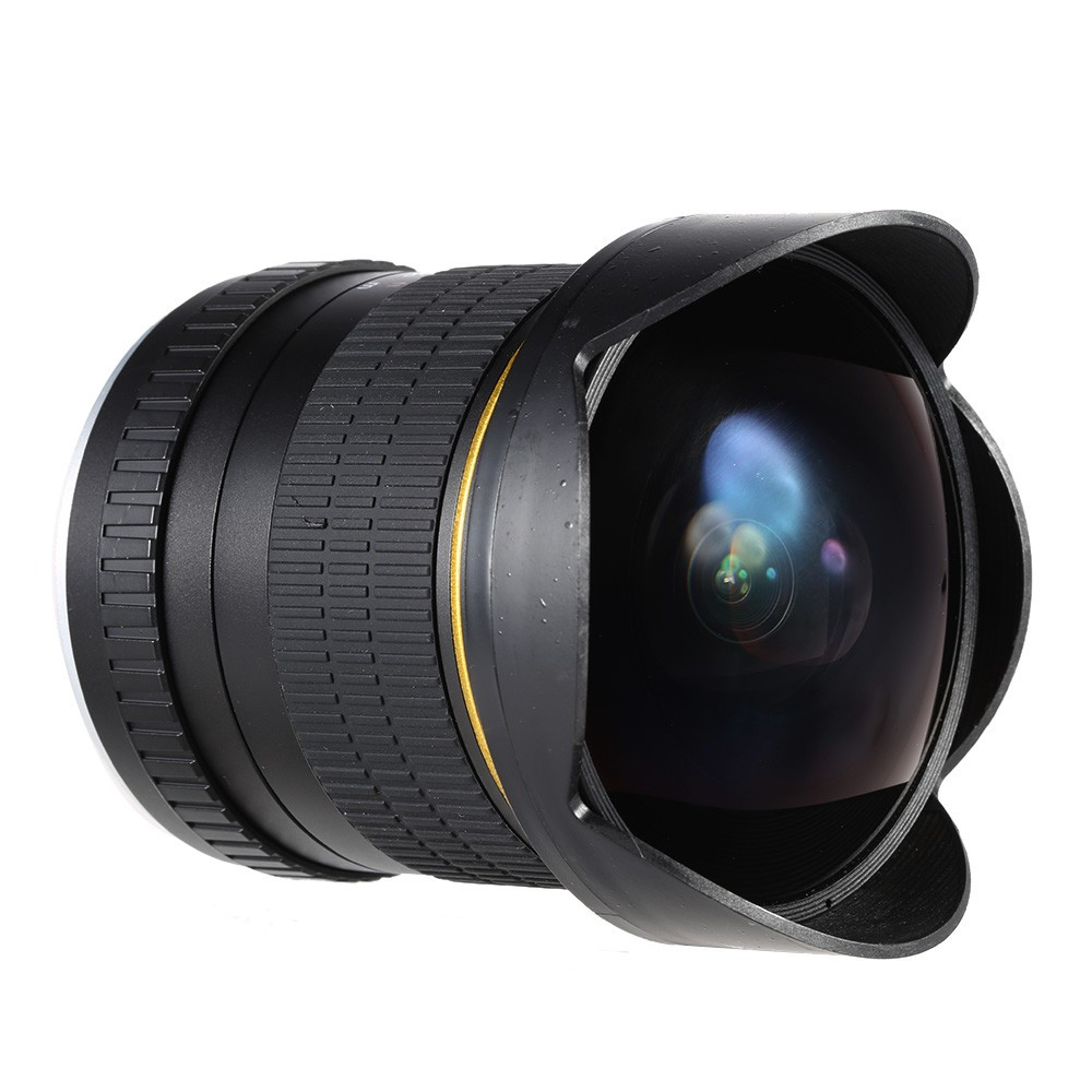 8mm F/3.5 Ultra Wide Angle Fisheye Lens Canon DSLR Cameras 1200D 760D 750D 700D 750D 600D 70D 60D 5D II III 6D 7D