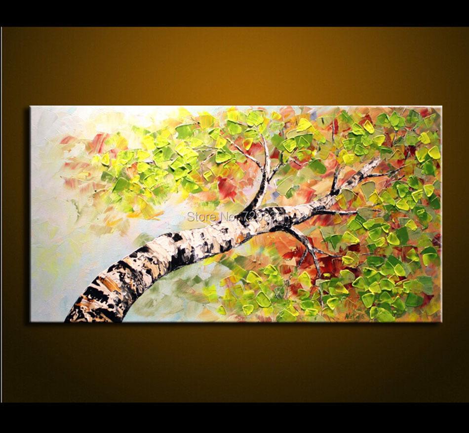 Rbol moderno pinturas compra lotes baratos de rbol for Pintura acrilica moderna