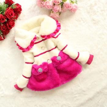 Зима утолщение девочка maomao хлопок одежда пальто, Дети хлопок - мягкий одежда 4 шт / много