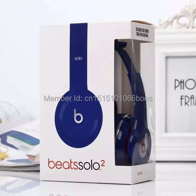 Hot sell brand solo2 headphones headsets beateds by dre solo 2 hd headphones headset all show real picture 5colors in stock(China (Mainland))