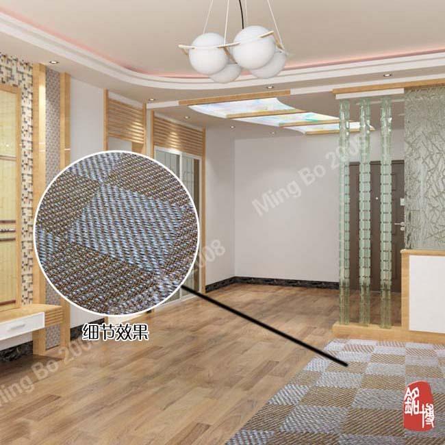 Natural Sisal Carpet Modern Chinese Style Carpet Living Room Carpet Sisal Car