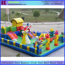 Advertise Supermarket Show Baby Inflatable Funfair Game Big Inflatable Playground Bouncer House Jumper Castle(China (Mainland))