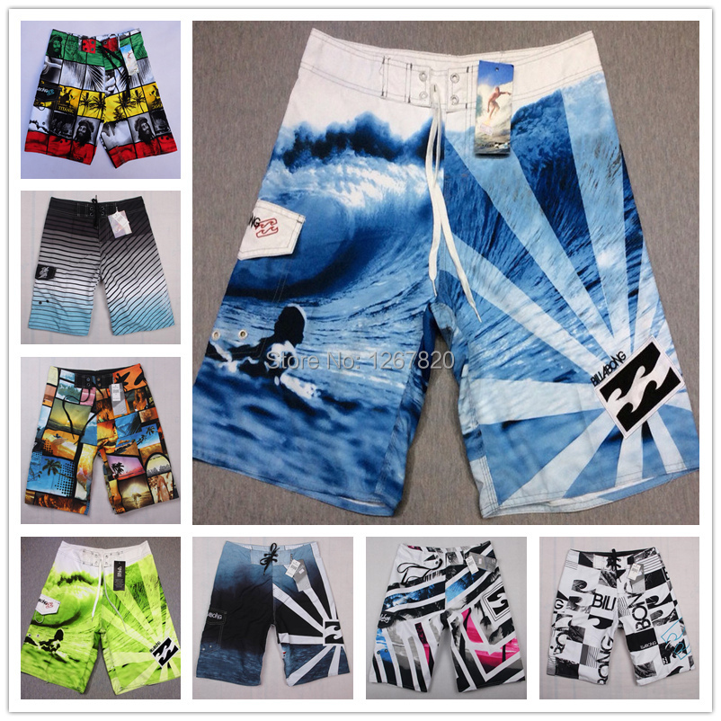 BILLABONG swimsuit beach mens shorts/ brand swimwears swim boardshort quick drying bermudas masculinas 2014 mens surf(China (Mainland))