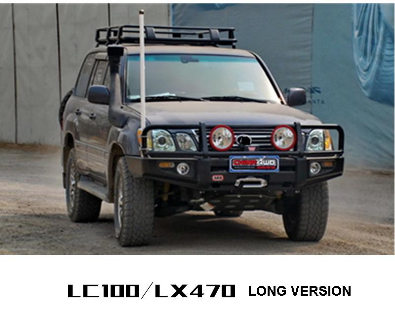 Car Snorkel kit ABS Plastic ANPART For 1998-2007 Toyota Land Cruiser 100 Series ONLY 1998-2007 Lexus LX470 ONLY Air Intakes Parts Set Auto Snorkel Kit