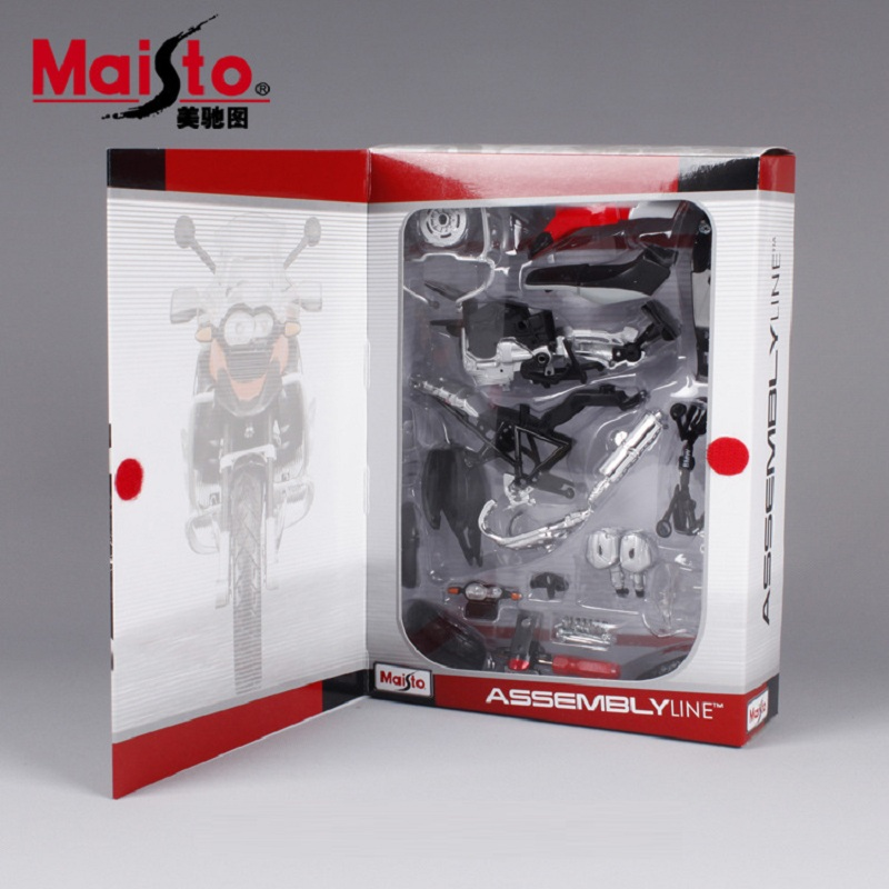 R1200GS Motorcycle Model Building Kits 1/12 Assembly Model Motorcycle Gift Toy motorcycle Kids Motorcycle Toys Kids Toys DIY