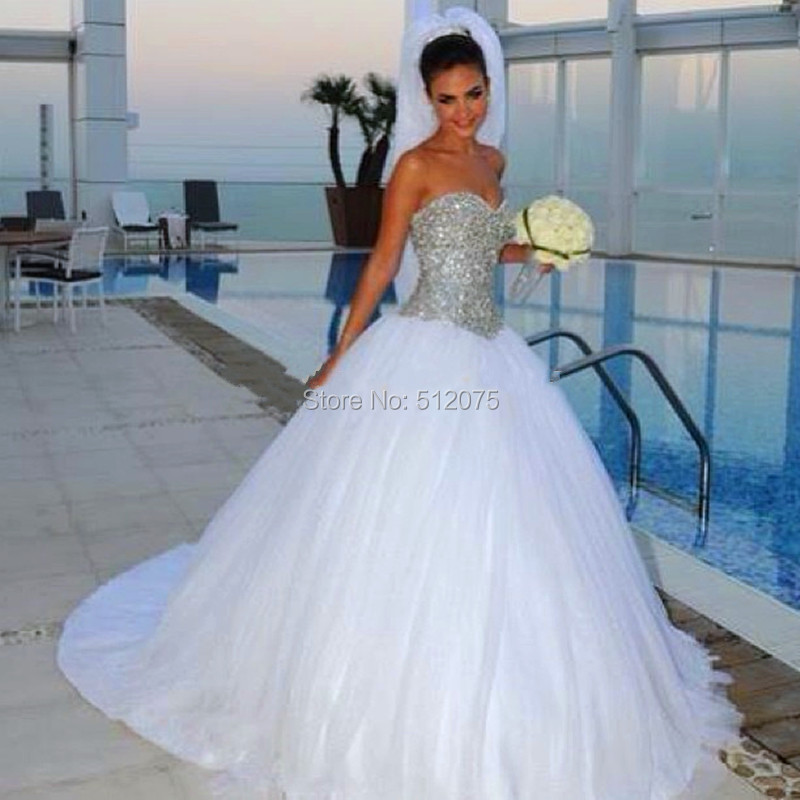 Ball Gown Wedding Dress Material : Bridal wedding gown robe de mariage z from reliable dress fabric