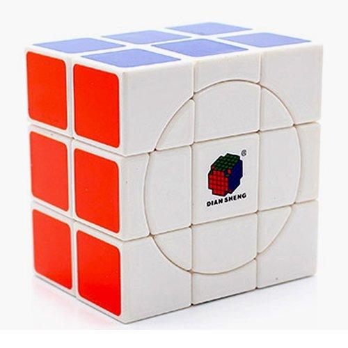 2x3x3 Crazy Diansheng Cuboid White Cube Twisty Puzzle(China (Mainland))