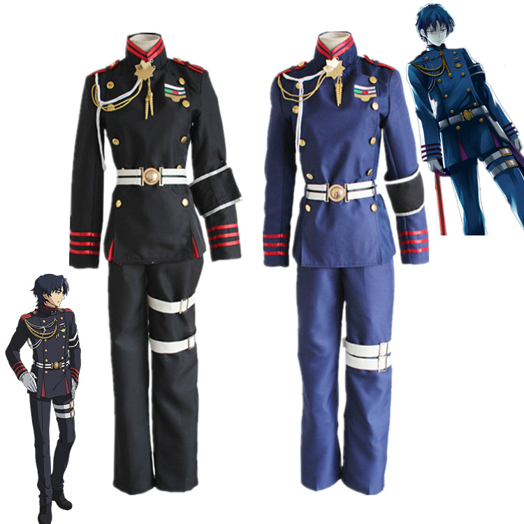 Guren Ichinose cosplay costumes anime Seraph of the end uniform(Blazer+pants)Одежда и ак�е��уары<br><br><br>Aliexpress