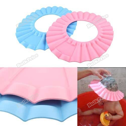 BulkPrice Shop Soft Baby Kids Children Shampoo Bath Shower Cap Hat New(China (Mainland))