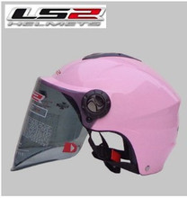 The new motorcycle helmet LS2 OF108 summer washable lining wear and UV lenses/Pink S-XL(China (Mainland))