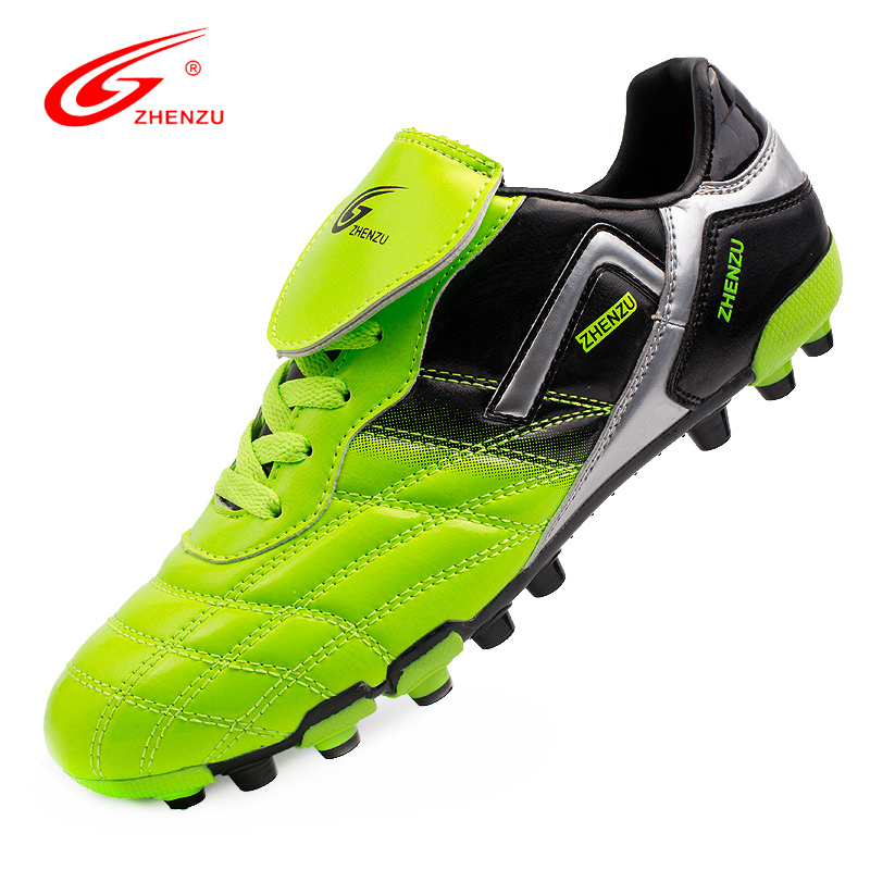 ZHENZU 2016 New Men Soccer Shoes High Quality AG Football Boots Artificial Ground Sport Sneakers Football Shoes, Size 36-44(China (Mainland))