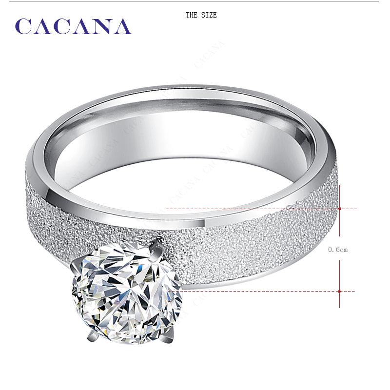 Кольцо обручальное CACANA no.r12