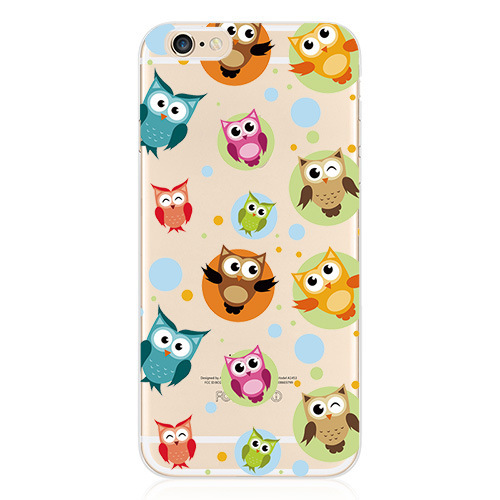 130PCS Bulk Wholesale Phone Cases For iPhone 6 Case 4.7Inch Cartoon Cute Back Cover Soft TPU Phone Protective Shell(China (Mainland))