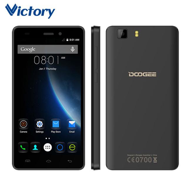 Original Doogee X5 Pro 5.0 дюймов MTK6735P Quad Core 4 Г LTE сотовые Телефоны Android 5.1 Смартфон 2 ГБ RAM 16 ГБ ROM Мобильный телефон