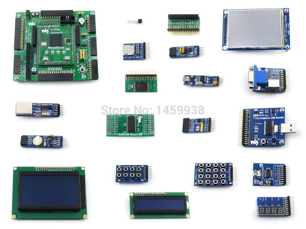 Altera Cyclone Board EP4CE10 EP4CE10F17C8N ALTERA Cyclone IV FPGA Development Board +18 Accessory Kits =OpenEP4CE10-C Package B(China (Mainland))