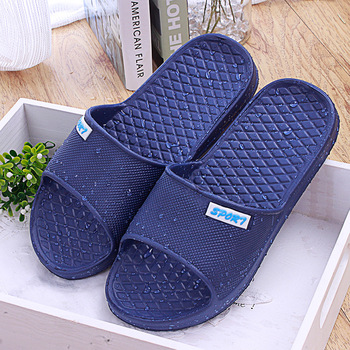 Men home bathroom slippers waterproof sandals and slippers beach holiday summer mules