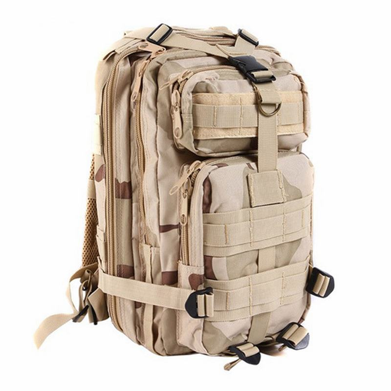 Hot Sale Men Women Outdoor waterproof Army Tactical Oxford cloth Backpack Camping Hiking Trekking Sport Camouflage BackpackHW081<br><br>Aliexpress