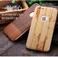 For Apple iPhone SE Case Luxury Bamboo Wood Grain Metal Frame Hard PC Board 2 in