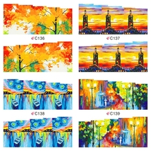 Buy 12 Sheets Nail Art Oil Painting Design Water Transfer Sticker Beauty Wraps Foil Polish Watermark Stickers Decals Nails JH369 for $2.04 in AliExpress store
